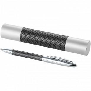 Długopis z detalami z włókna węglowego Winona
