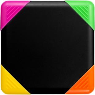 4-kolorowy zakreślacz kwadratowy Trafalgar