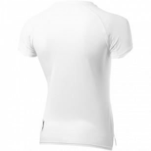 Damski T-shirt Serve z krótkim rękawem z dzianiny Cool Fit odprowadzającej wilgoć