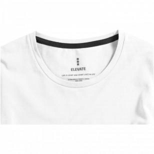 Damski T-shirt organiczny Ponoka z długim rękawem