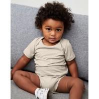 Body niemowlęce z krótkimi rękawkami Jersey