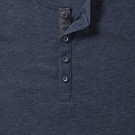 Męski T-shirt HD Henley