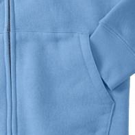 Damska bluza z kapturem na zamek Authentic