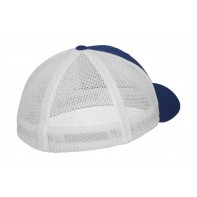 Dwukolorowa czapka z siatką Trucker
