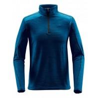 Męska bluza termoaktywna z krótkim zamkiem