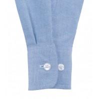 Bluzka Oxford z krótkimi rękawami