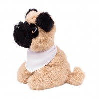 Pluszowy pies mops | Aksel