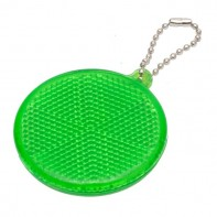 Światełko odblaskowe Circle Reflect, zielony