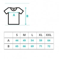 T-shirt damski XXL Premium (GIL4100)